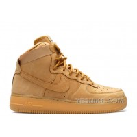 Big Discount! 66% OFF! Air Force 1 High Lv8 Gs Flax Sale