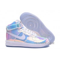 Big Discount ! 66% OFF ! Nike Air Force 1 High Retro QS Summit White The Sole