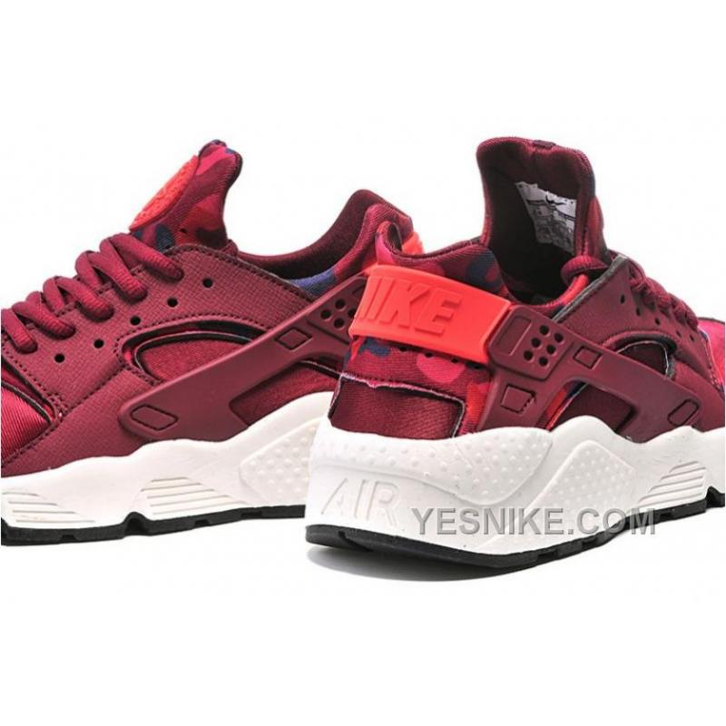 Authentic Nike Air Huarache Aloha Pack Red Floral 725076