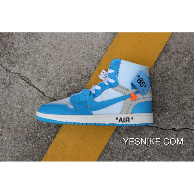 fc14df6f7bc91d ... reduced off white x air jordan 1 unc aq0818 148 north carolina blue  free shipping b84a6
