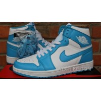 Big Discount! 66% OFF! Air Jordan 1 Retro High OG UNC Dark Powder Blue White For Sale
