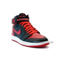 Big Discount! 66% OFF! Nike Air Jordan 1 (I) Retro High Strap Black / Red WJhKc