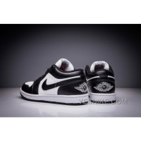 Big Discount! 66% OFF! Nike Men's Air Jordan 1 Low Black White