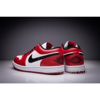 "Big Discount! 66% OFF! Air Jordan 1 Low Retro ""Chicago"" White/varsity Red-black"