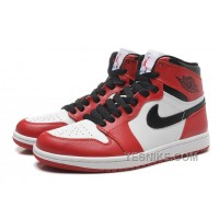 Big Discount! 66% OFF! Air Jordan 1 Chicago Bulls Canvas Men Basketball Shoes Size 40-47