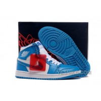 Big Discount! 66% OFF! Air Jordan 1 Retro High White/University Blue 2015 For Sale