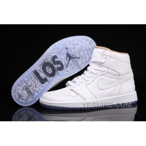 "Big Discount! 66% OFF! Air Jordan 1 Retro High ""LOS"" / White"