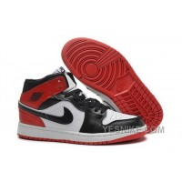 Big Discount! 66% OFF! Coupon For Nike Air Jordan I 1 Womens Shoes White Black Red Hot ZyBp6