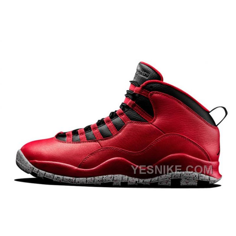 """cheap for discount a57a7 97d31 Big Discount! 66% OFF! For Sale Air Jordan 10 """"Red Cement"""" Remastered For  2015 Vivid Red/Black-White Cement"""