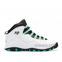 Big Discount! 66% OFF! Air Jordan 10 Retro 30th Gg Girls Verde Sale