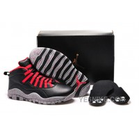 Big Discount! 66% OFF! Air Jordan 10 Public School Black 2015 For Sale