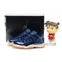 Big Discount! 66% OFF! Air Jordan 11 Low Navy/Gum Midnight Navy/White-Light Gum Brown 528895-405