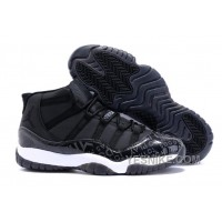 "Big Discount! 66% OFF! Air Jordan 11 (XI) ""Doernbecher"" DB Black White Online For Sale"