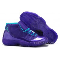 "Big Discount! 66% OFF! New Nike Air Jordan 11 ""Hornets"" All Purple For Sale Online"