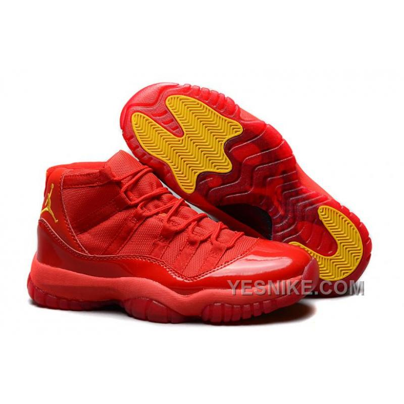 Air Jordans 11 Retro Red October RedVarsity Maize For Sale