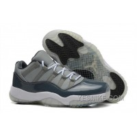 "Big Discount! 66% OFF! Cheap Air Jordan 11 Retro Low ""Cool Grey"" Michael Jordan PE For Sale"