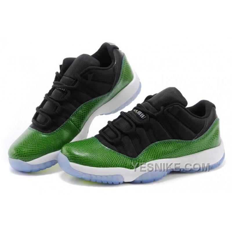 "2722b0614e Big Discount! 66% OFF! Cheap Air Jordan 11 Retro Low ""Green ..."