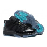 Big Discount! 66% OFF! Air Jordan 11 (XI) Black/Gamma Blue-Varsity Maize Cheap For Sale