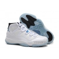 Big Discount! 66% OFF! Air Jordan 11 (XI) White/Legend Blue-Black Cheap For Sale Online