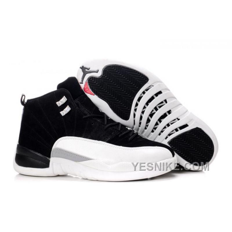 Big Discount! 66% OFF! AIR JORDAN 12 NOIR/BLANC Pas Cher ...