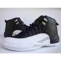 Big Discount! 66% OFF! Air Jordan Nike 12 XII Retro Baskets Noir/Blanc EW5PY