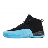 Big Discount! 66% OFF! Air Jordan 12 Retro Black/Gym Red-Gamma Blue Online Cheap For Sale