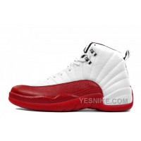 Big Discount! 66% OFF! Air Jordan 12 Retro White/Varsity Red-Black Cheap For Sale Online