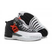"Big Discount! 66% OFF! Air Jordans 12 Retro ""Playoffs"" Black/White -Varsity Red For Sale Xp58G"