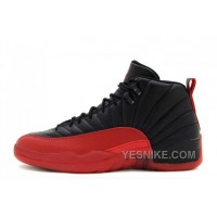 Big Discount! 66% OFF! Cheap Air Jordan 12 Retro Black/Varsity Red For Sale