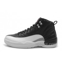 "Big Discount! 66% OFF! Cheap Air Jordan 12 Retro ""Playoffs"" Black/Varsity Red-White For Sale"