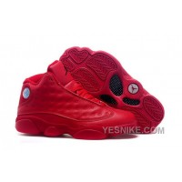 Big Discount! 66% OFF! Men/Women NK Air JD 13 (XIII) Retro Red JRZjp