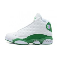 Big Discount! 66% OFF! Mens Air JD 13 Retro Ray Allen Three-Point Record White/Clover For Sale JKD8D