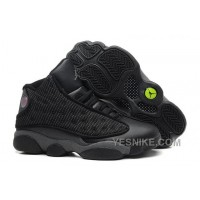 Big Discount! 66% OFF! Sale Cheap Air JD 13 Retro All Black Online S346D