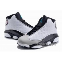 Big Discount! 66% OFF! Jordan 13 Retro Hologram Wolf Grey White Black Z6msS