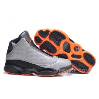 "Big Discount! 66% OFF! Air Jordans 13 Retro ""3M Reflective"" Reflective Silver/Infrared 23-Black"