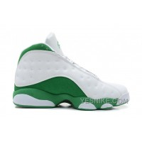 "Big Discount! 66% OFF! Air Jordans 13 Retro ""Ray Allen Three-Point Record"" White/Clover For Sale"