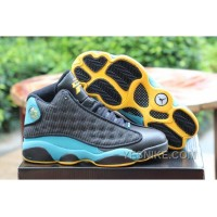 "Big Discount! 66% OFF! Air Jordan 13 Retro ""CP3″ Black/Sunstone-Orion Blue Sale Online"