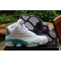 "Big Discount! 66% OFF! Air Jordan 13 Retro ""CP3 Home"" White/Orion Blue-Purple For Sale"