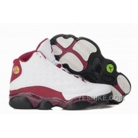 Big Discount! 66% OFF! Promo Code For For Sale Air Jordan 13 Xiii Retro Women Shoes Online White Red Black 334mS