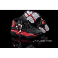 Big Discount! 66% OFF! Inexpensive For Sale Air Jordan 13 Xiii Retro Womens Shoes Online Black Red CFHaT