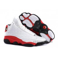 Big Discount! 66% OFF! Air Jordan 13 Retro White/Black-True Red Free Shipping