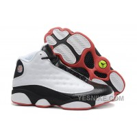 "Big Discount! 66% OFF! Air Jordan 13 (XIII) Retro ""He Got Game"" White/True Red-Black For Sale Online"