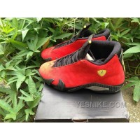 Big Discount! 66% OFF! Aj14 Air Jordan14 Ferrari Red Men 41-47