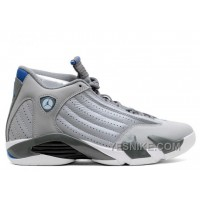 Big Discount! 66% OFF! Air Jordan 14 Retro Sport Blue Sale