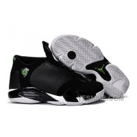 "Big Discount! 66% OFF! 2016 Air Jordan 14 ""Indiglo"" Black/White Shoes"