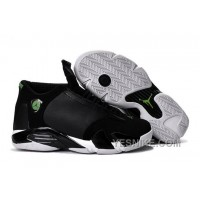 "Big Discount! 66% OFF! 2016 Air Jordan 14 ""Indiglo"" Black/White Shoes TKeyz"