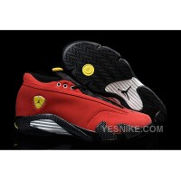 "Big Discount! 66% OFF! Air Jordan 14 Retro Low ""Red Suede Ferrari"" 2015 New Released"