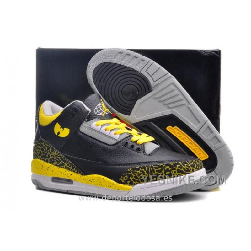 big sale edcd9 44587 Big Discount! 66% OFF! Air Jordan 3 Hombre Nike Air Jordan Ebay Air Jordan  3 Mujer Baratas US (Jordan 3 Black Cement)