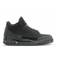 Big Discount! 66% OFF! Air Jordan 3 Retro Black Cat Sale