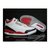 Big Discount! 66% OFF! Air Jordan 3 Retro White Fire Red Release Details Foot Men N8cCY